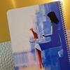 تصویر دفتر صد برگ لاین نوت وزیری طرح دختر 4