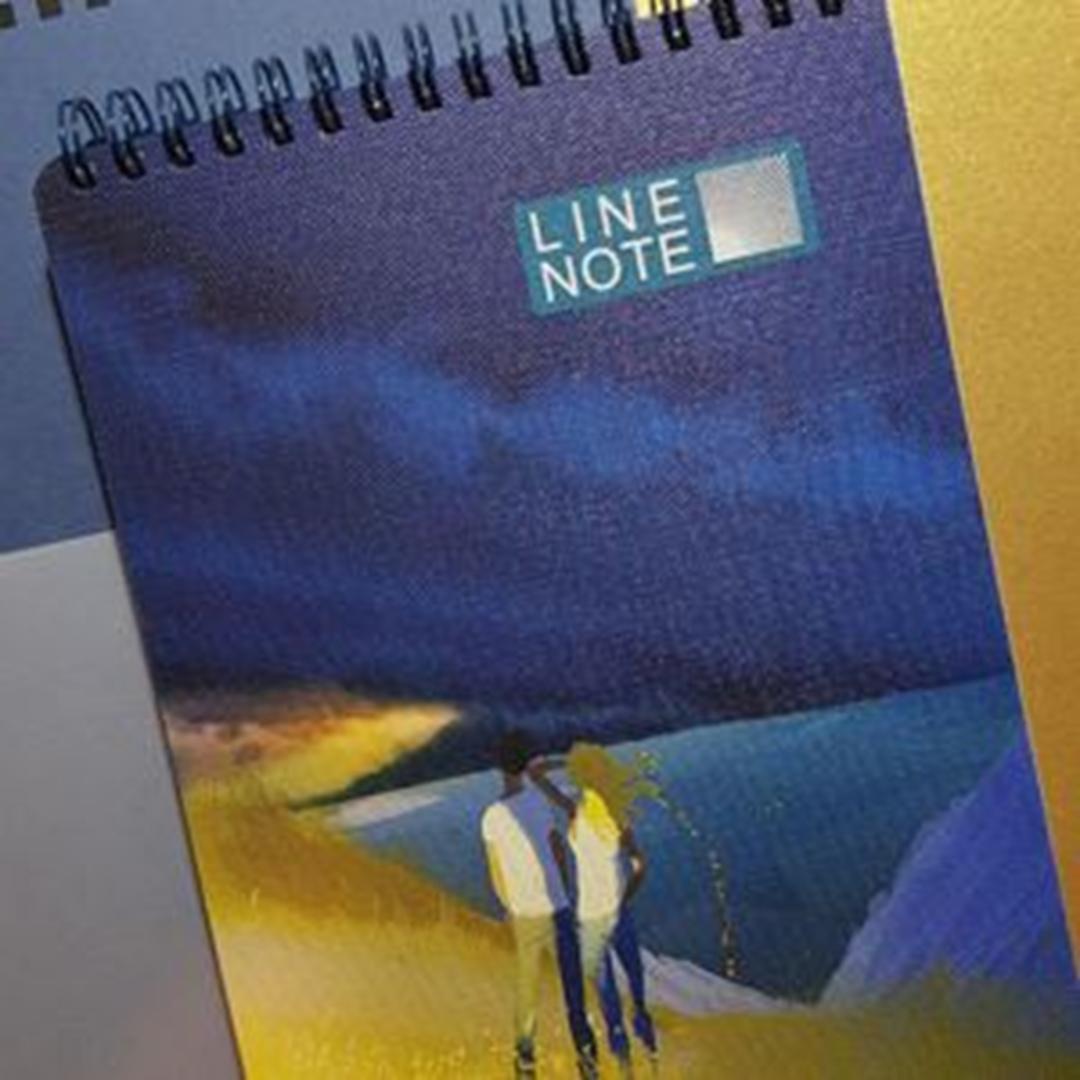 تصویر دفتر لاین نوت A5 طرح Sea