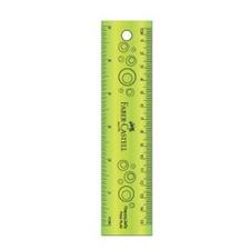 تصویر خط کش فابرکاستل مدل HappyJelly 178319 | پانزده سانتیمتر