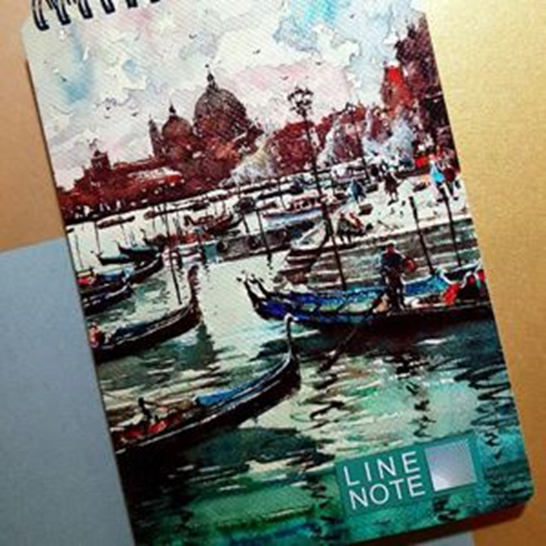 تصویر دفتر لاین نوت A5 طرح 4 Port
