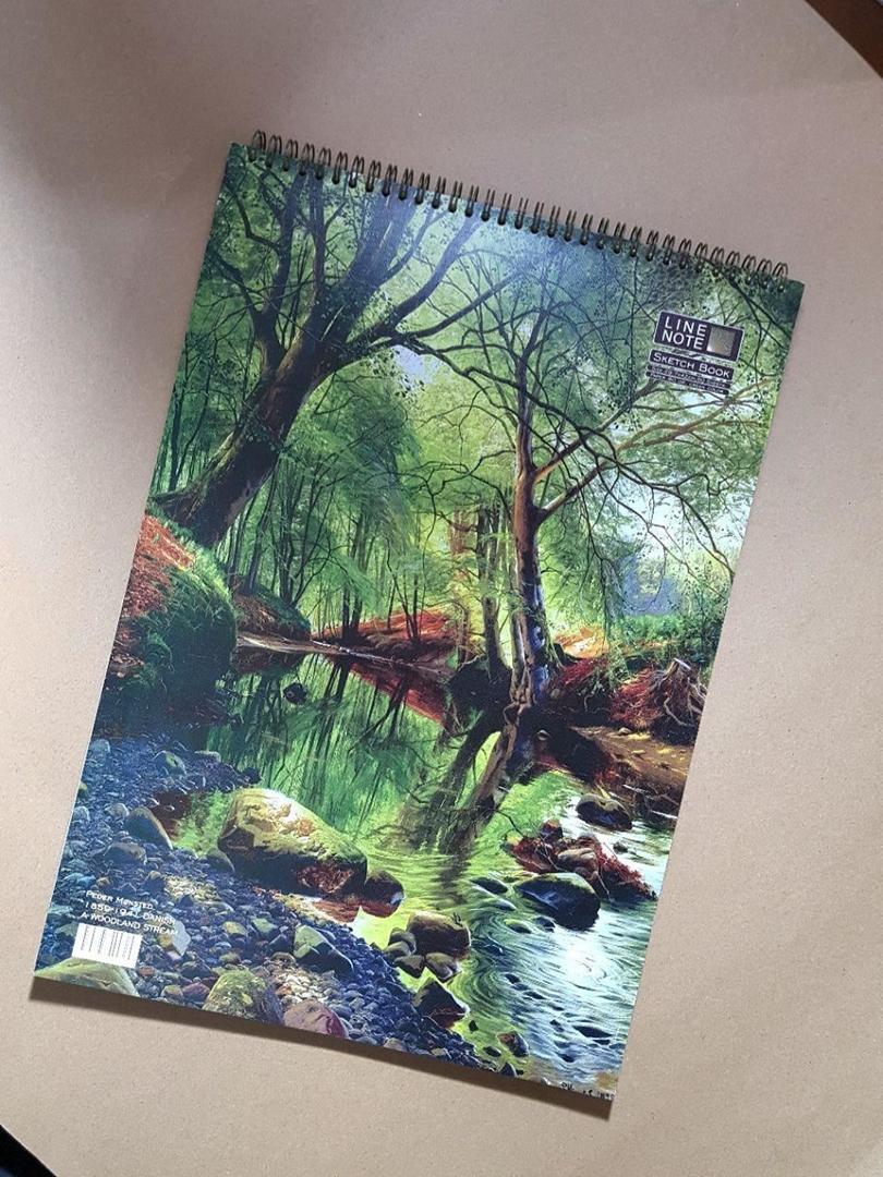 تصویر دفتر طراحی 60 برگ لاین نوت A3 طرح Jungle