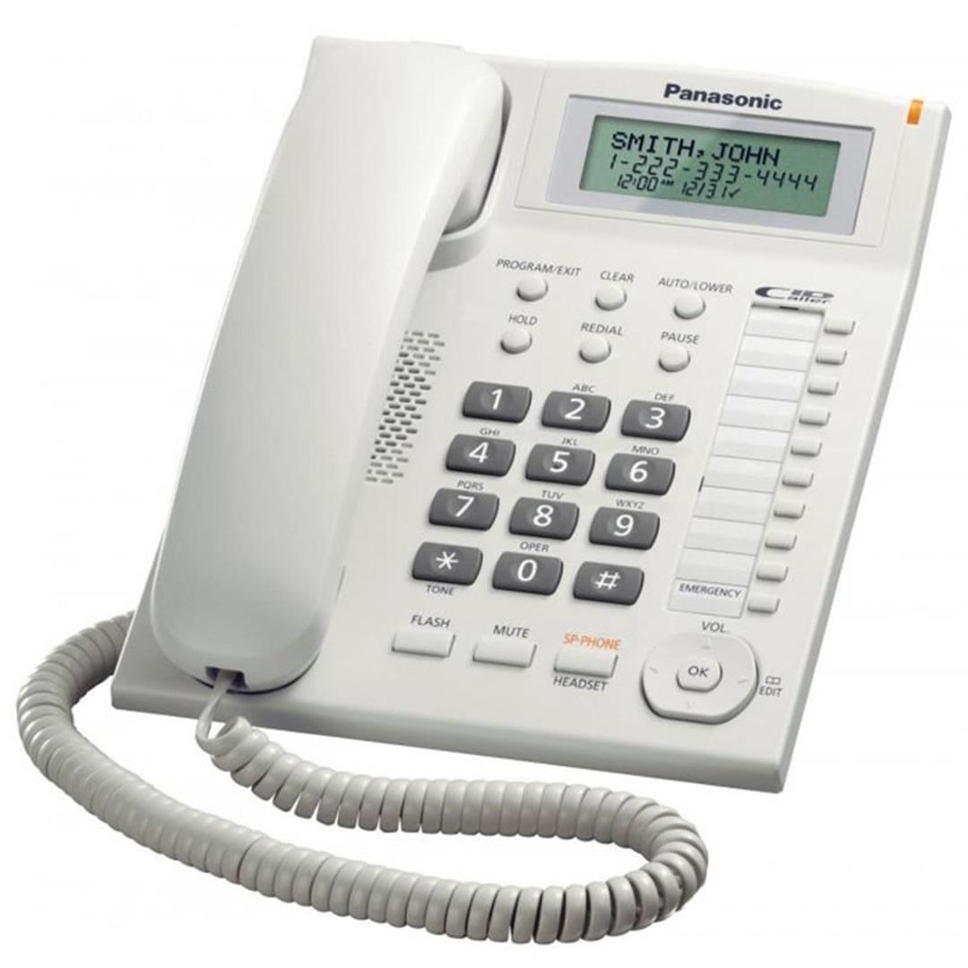 تصویر تلفن پاناسونیک مدل KX-TS880MX | باسیم، تکخط