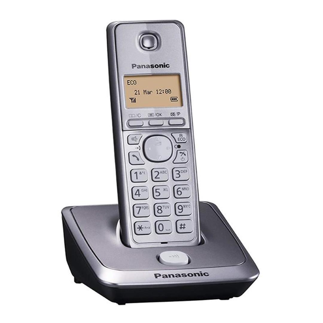 تصویر تلفن بی سیم پاناسونیک مدل KX-TG2711   تکخط