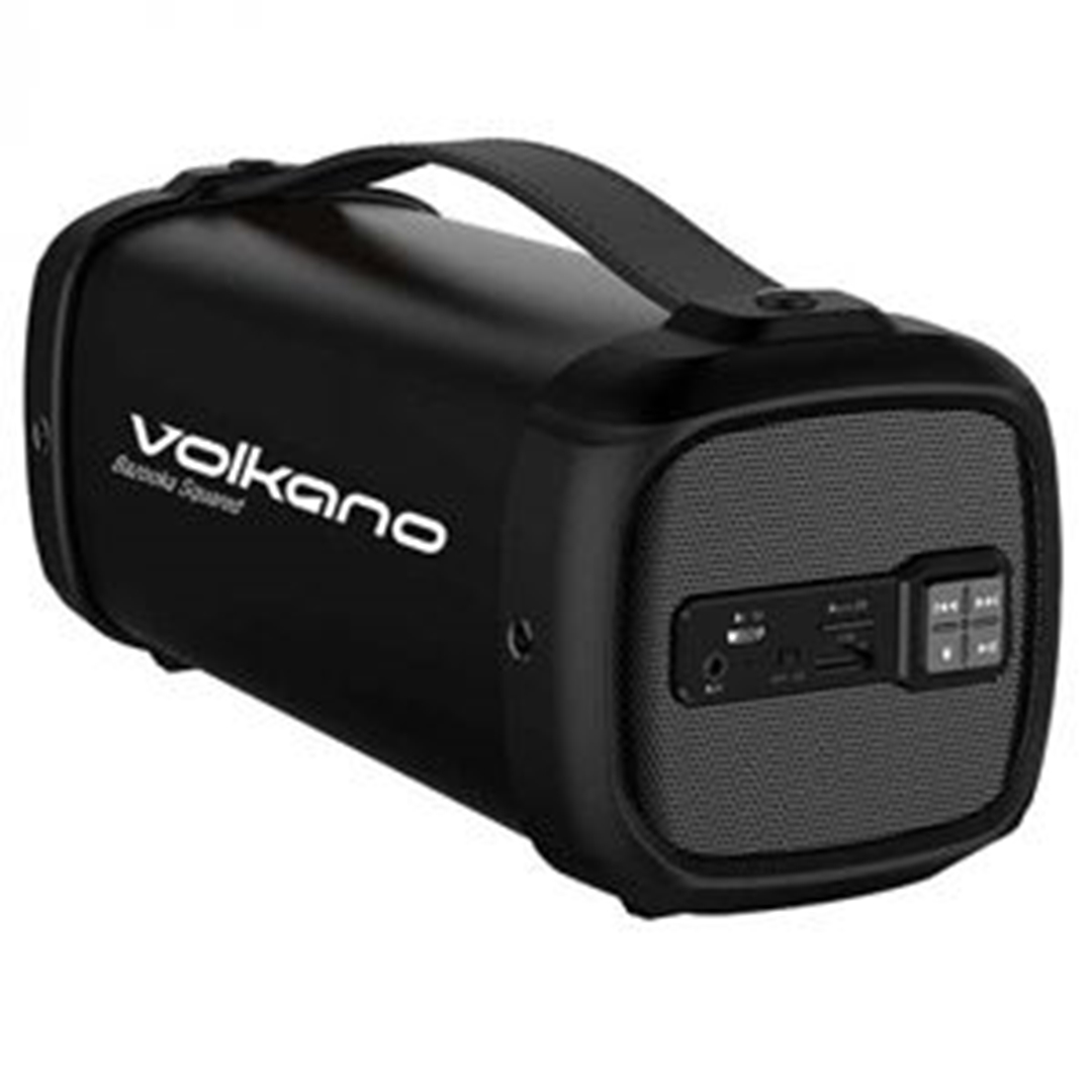 تصویر اسپیکر بلوتوث ولکانو مدل Bazooka Squared VK-3030 | قابلحمل