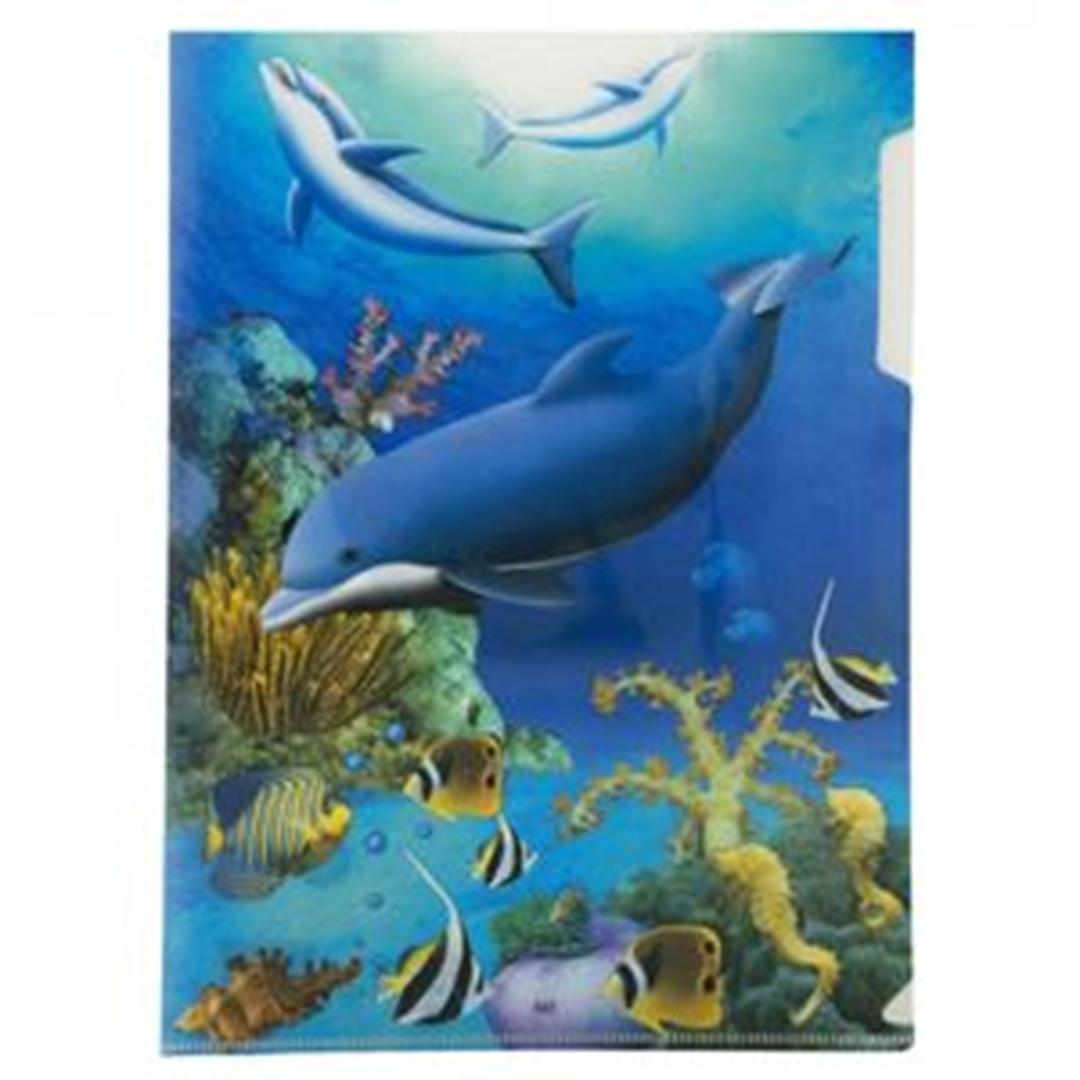 تصویر پوشه A4 پاپکو مدل اقیانوس