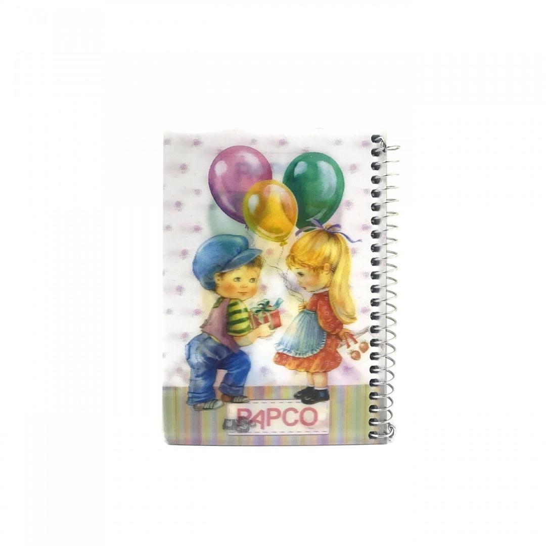تصویر دفتر یادداشت سه بعدی پاپکو مدل NB-6703D-2D