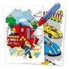 تصویر دفتر نقاشی جادویی گلت طرح Vehicles