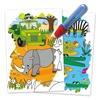 تصویر دفتر نقاشی جادویی گلت طرح Safari