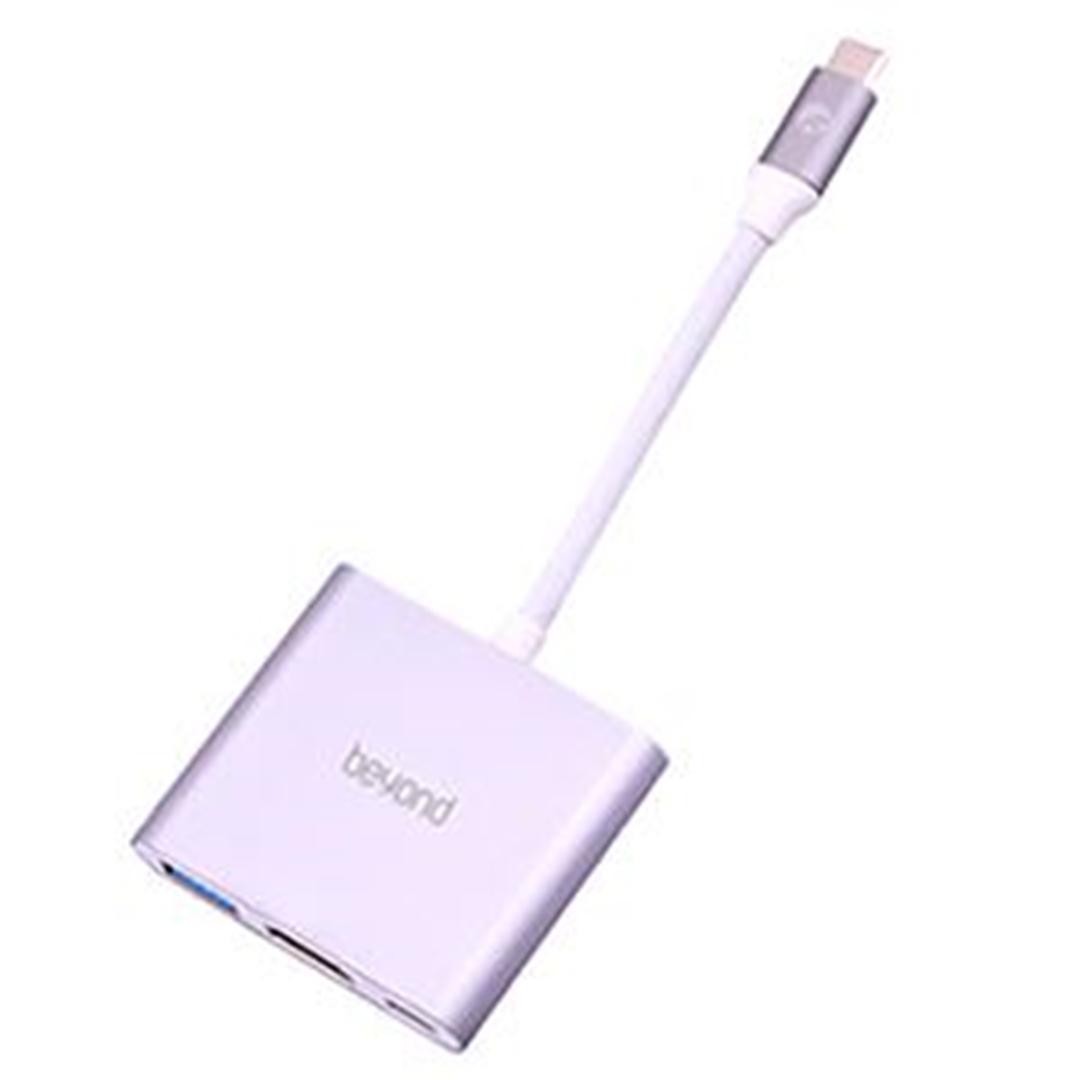 تصویر مبدل فراسو بیاند USB-C به HDMI مدل BA-410