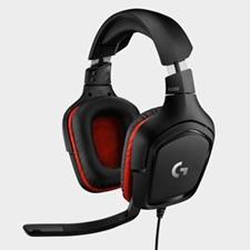تصویر هدست باسیم لاجیتک مدل G332 | روی گوش