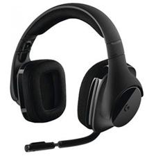 تصویر هدست بیسیم لاجیتک مدل G533 | روی گوش