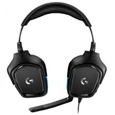 تصویر هدست باسیم گیمینگ لاجیتک مدل G432 | روی گوش