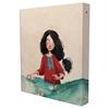 تصویر دفتر کلاسوری مستر نوت طرح دختر و قایق کاغذی | صد برگ