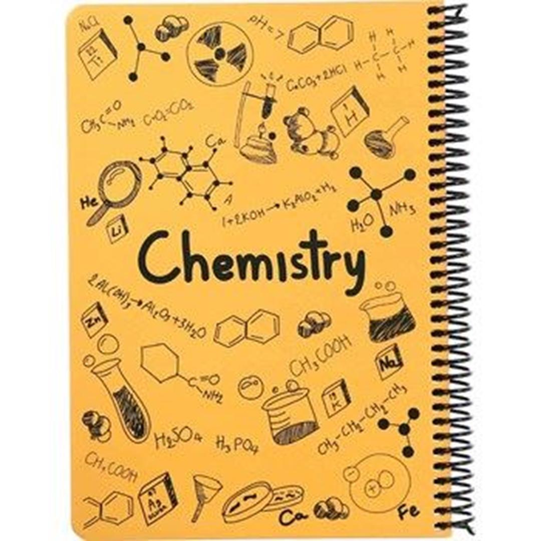 تصویر دفتر مشق شیمی دات نوت | 100 برگ