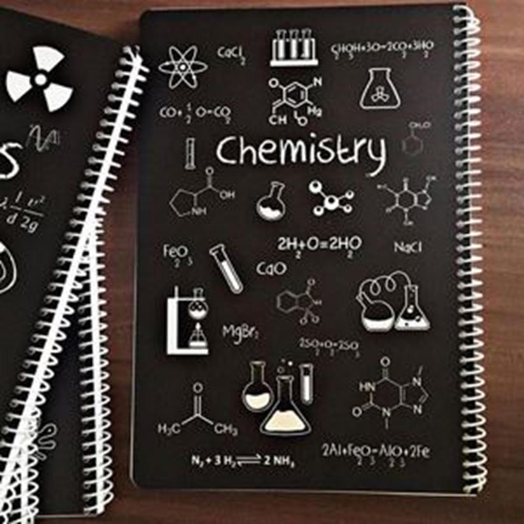 تصویر دفتر مشق شیمی | 80 برگ