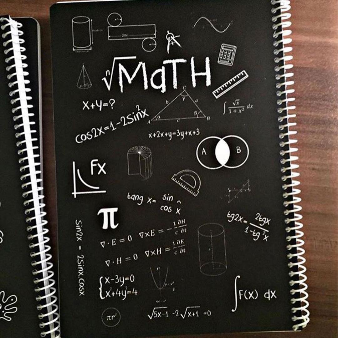 تصویر دفتر مشق ریاضی   80 برگ