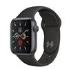 تصویر ساعتهوشمند اپل Apple Watch سری 5 GPS   بدنه آلومینیوم مشکی، بند اسپورت مشکی، 40 میلیمتر