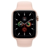 تصویر ساعتهوشمند اپل Apple Watch سری 5 GPS | بدنه آلومینیوم طلایی، بند اسپورت صورتی، 40 میلیمتر
