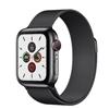 تصویر ساعتهوشمند اپل Apple Watch سری 5 GPS + Cellular | بدنه استیل مشکی، حلقه میلانی، 40 میلیمتر