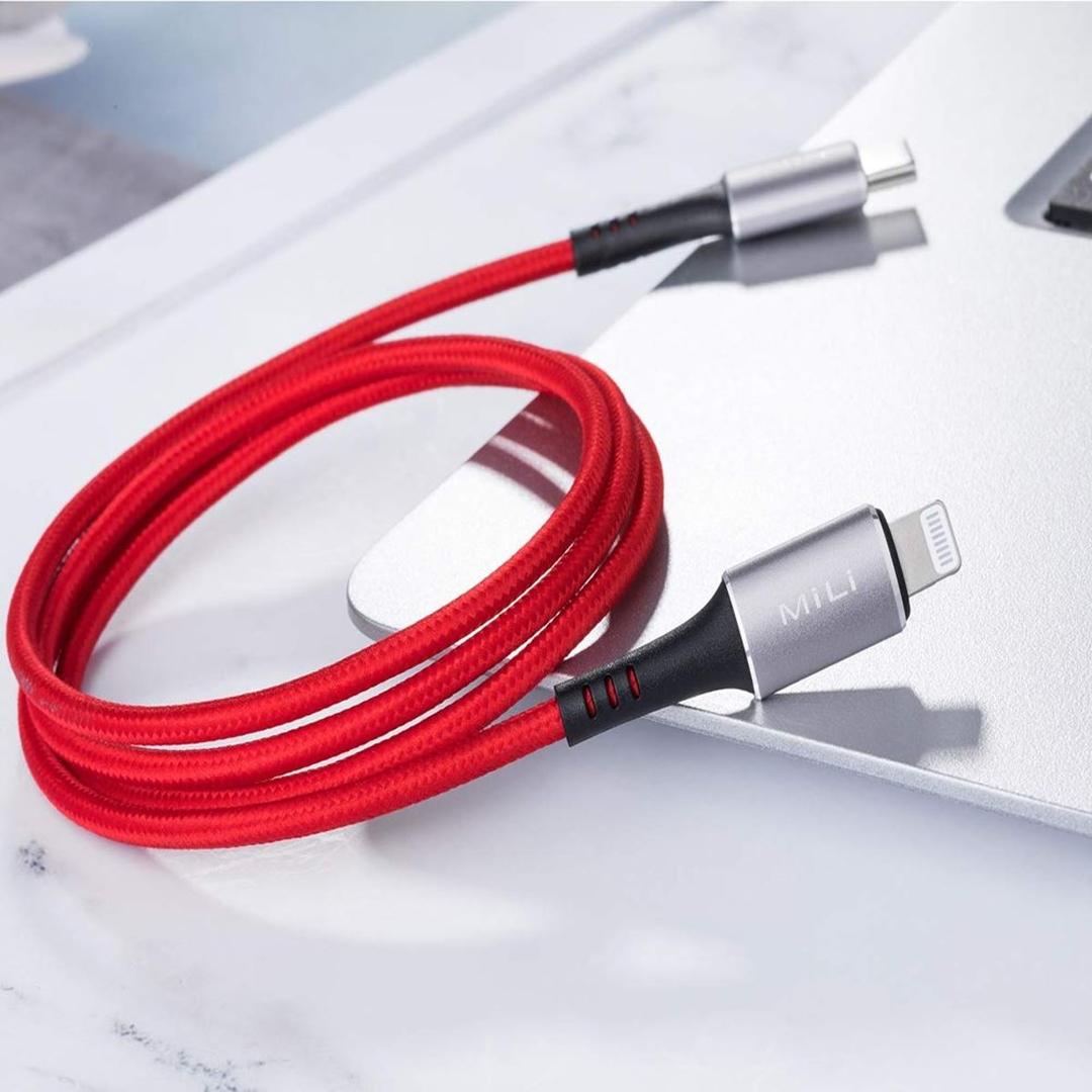 تصویر کابل Lightning می لی مدل HI-L90