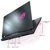 تصویر لپتاپ ایسوس مدل ROG Strix G531GV   پانزده اینچ، پردازنده اینتل i7-9750H