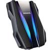 تصویر هارد دیسک اکسترنال ای دیتا مدل HD770   ظرفیت دو ترابایت، پورت USB 3.2