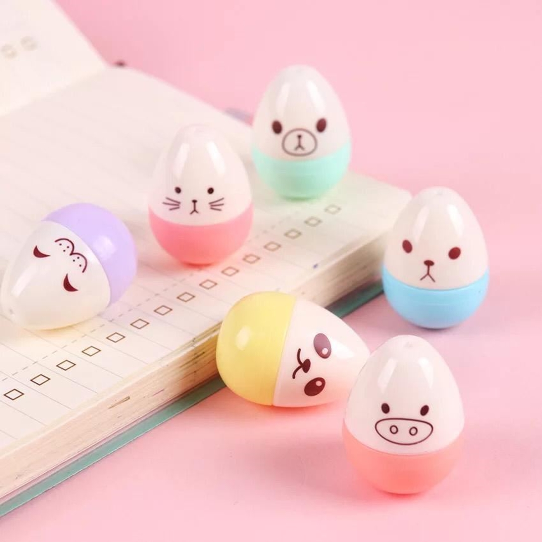 تصویر هایلایتر Egg تخم مرغ | 6 عددی