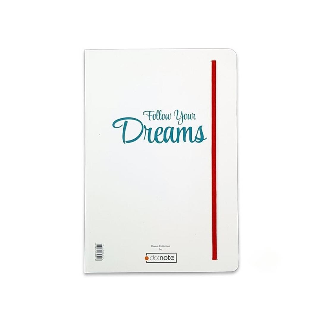 تصویر دفتر دات نوت طرح Dream رویا سایز A7