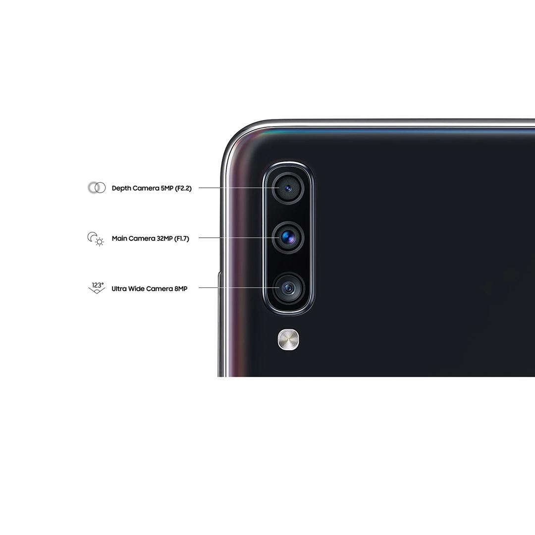 تصویر موبایل سامسونگ مدل Galaxy A70   ظرفیت 128 گیگابایت، دو سیمکارت