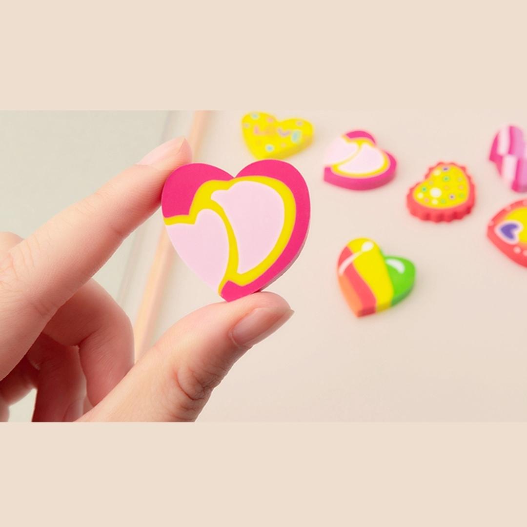 تصویر پاک کن  YZ1602 طرح قلب