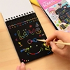 تصویر دفتر جادویی Scratch Note سایز A5