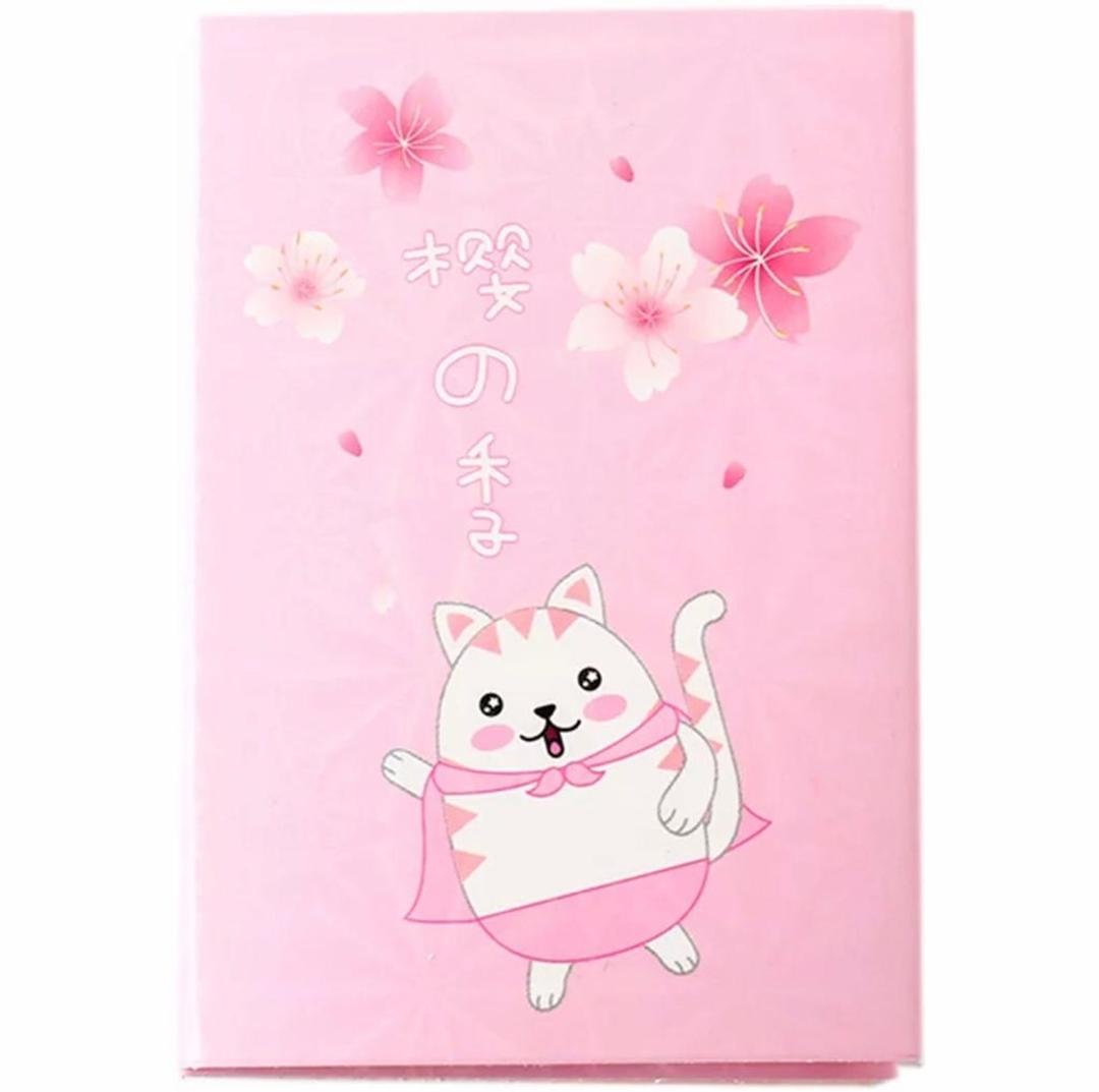 تصویر استیک نوت دفترچه ای طرح گربه