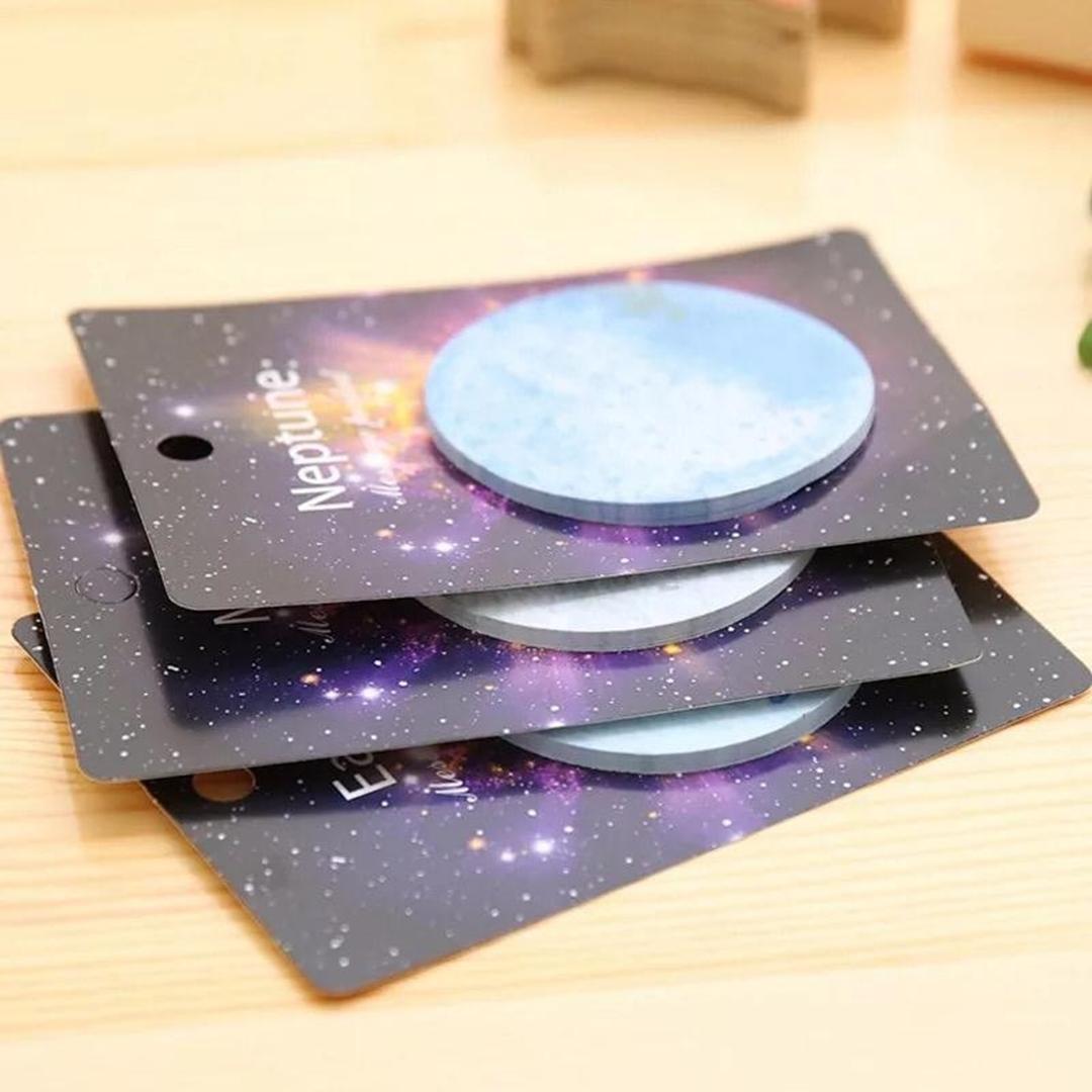 تصویر استیک نوت طرح کهکشان