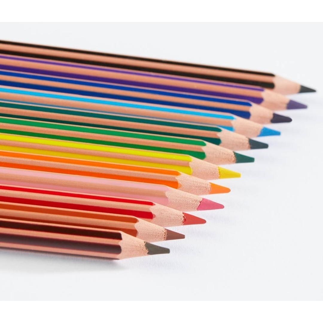 تصویر مداد رنگی 24 رنگ بیک مدل Tropicolors 2
