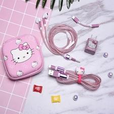 تصویر کیف هندزفری طرح Hello Kitty