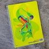 تصویر دفتر 60 برگ لاین نوت وزیری طرح ورزشی