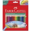 تصویر مداد رنگی 24 رنگ فابر کاستل مدل 116253
