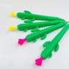 تصویر مداد مکانیکی طرح سبزیجات کاکتوس، ذرت و هویج