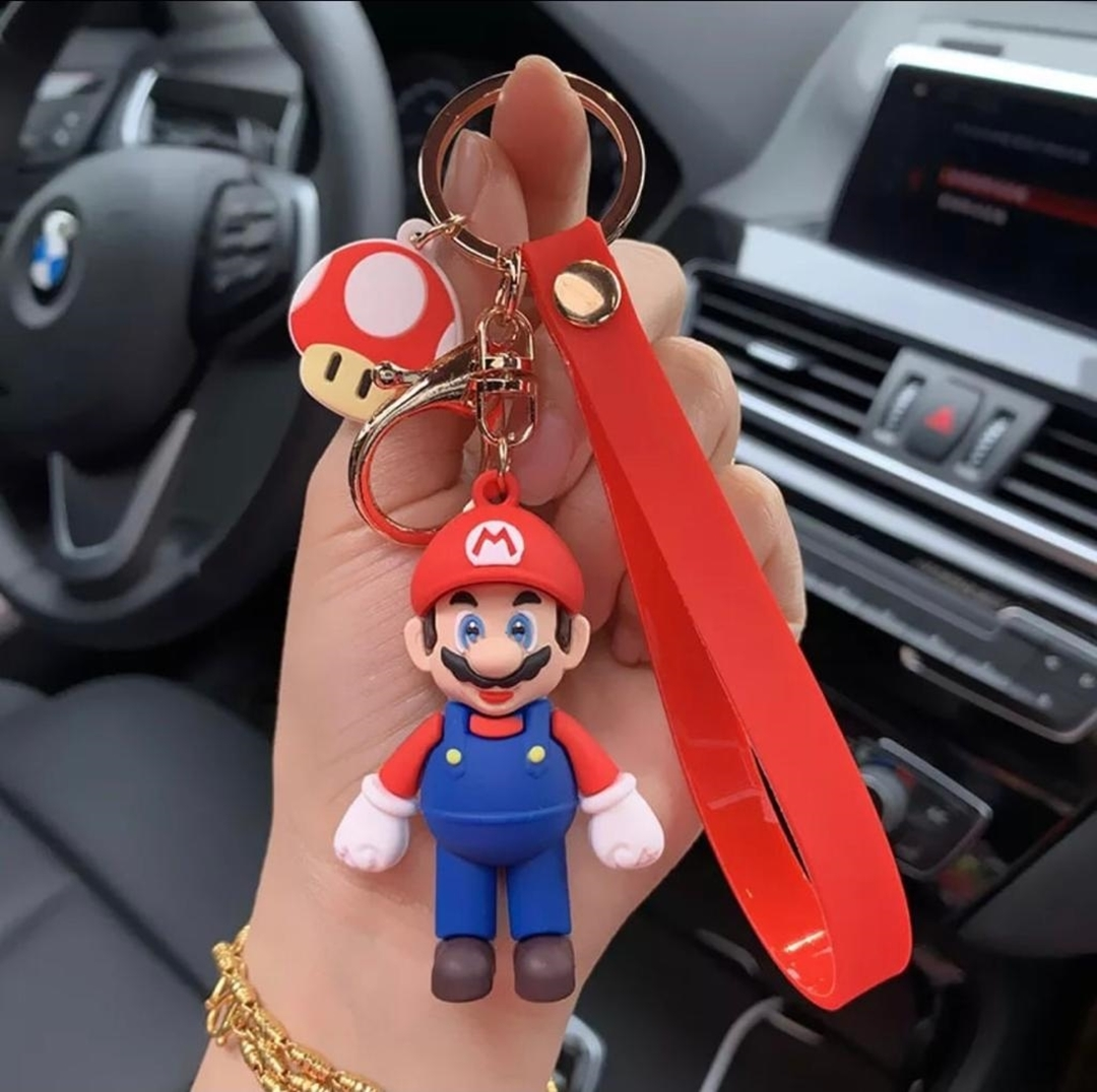 تصویر جاکلیدی فانتزی طرح ماریو