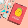 تصویر دفتر یادداشت تاپیک مدل میوه ای