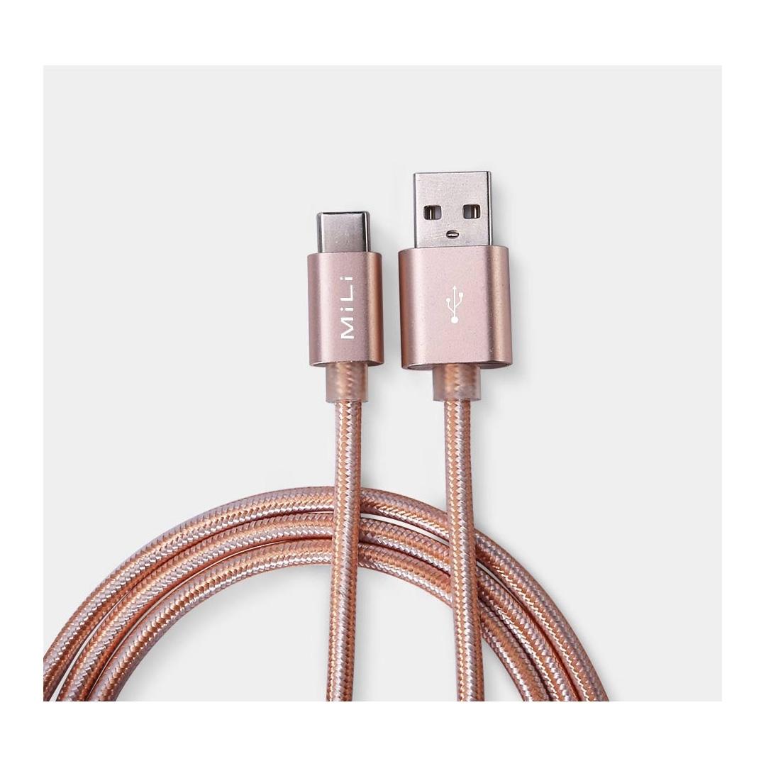 تصویر کابل USB-C می لی مدل HX-T28
