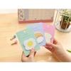 تصویر استیک نوت طرح تخم مرغ دونات و سوشی