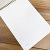تصویر دفتر یادداشت خط دار مدل جانان