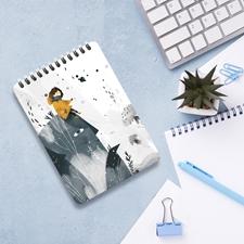 تصویر دفتر یادداشت تاپیک مدل خانه