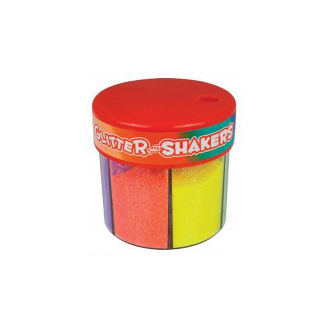 تصویر اکلیل 6 رنگ Glitter Shakers