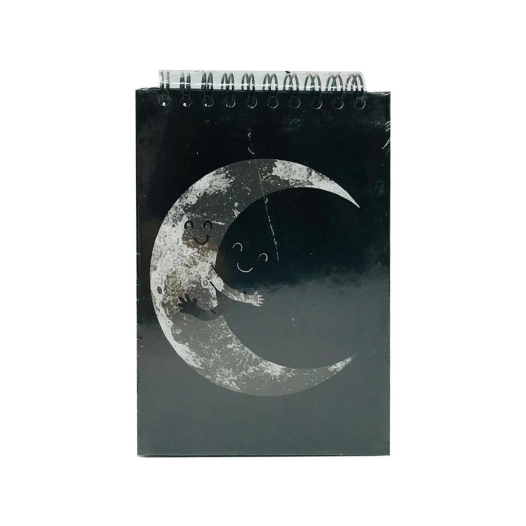 تصویر دفترچه یادداشت سیاه برگ Rocco