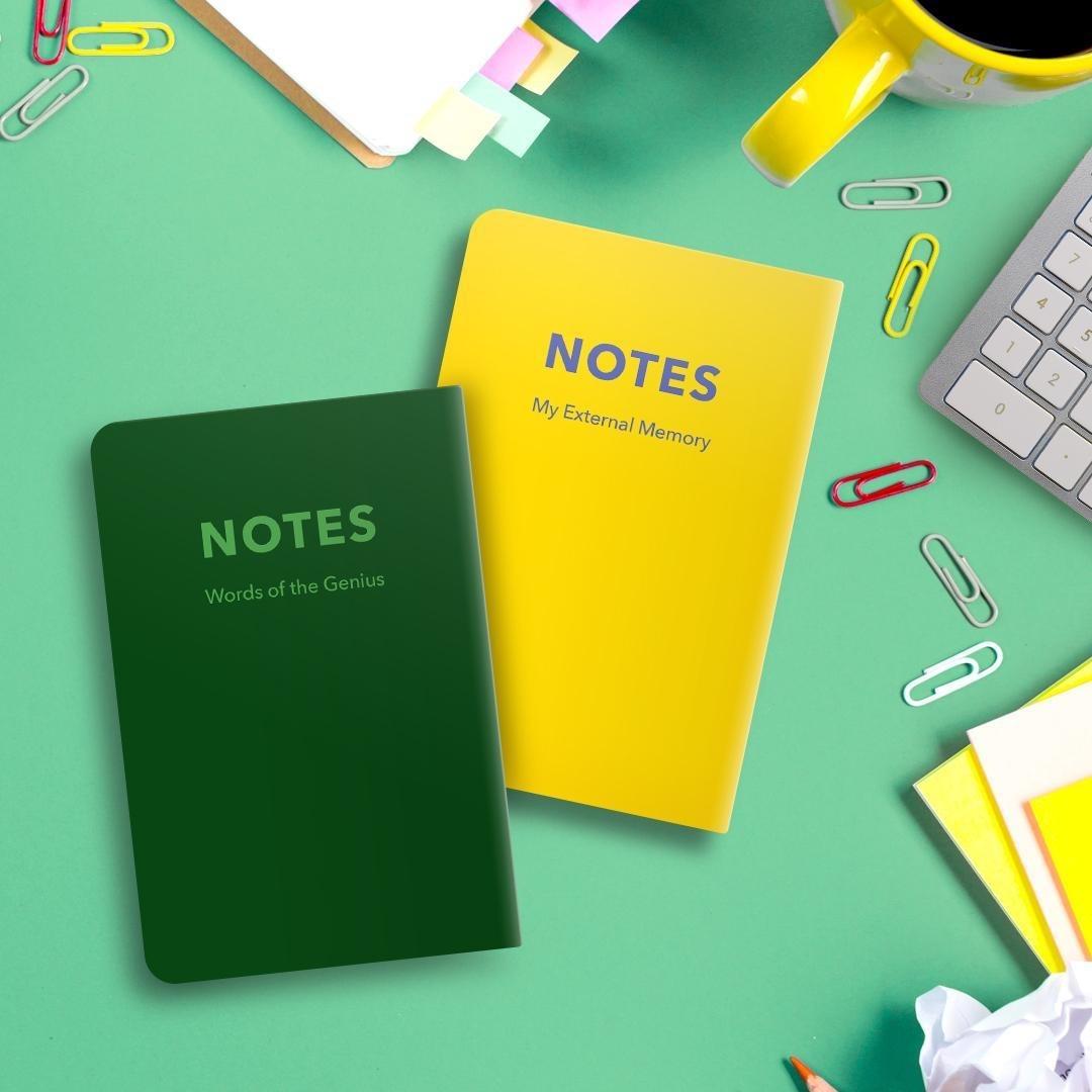 تصویر دفترچه یادداشت جیبی تاپیک مدل Notes کلاسیک
