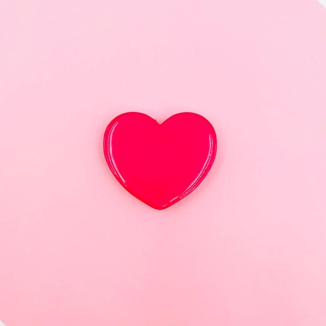 تصویر پاپ سوکت قلب ساده