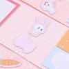 تصویر استیک نوت دفترچه ای طرح خرگوش