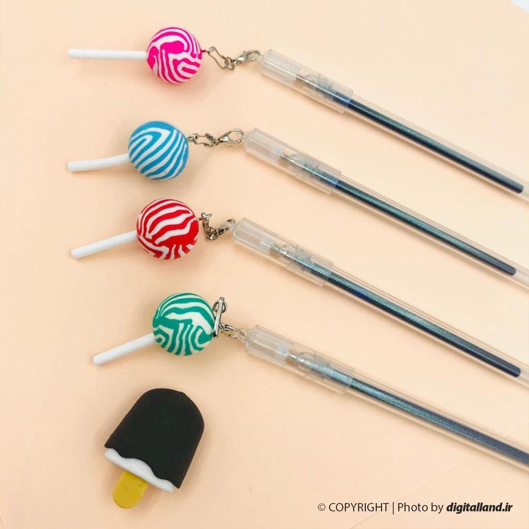 تصویر خودکار طرح آبنبات گرد Lollipop